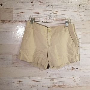 Express tan shorts